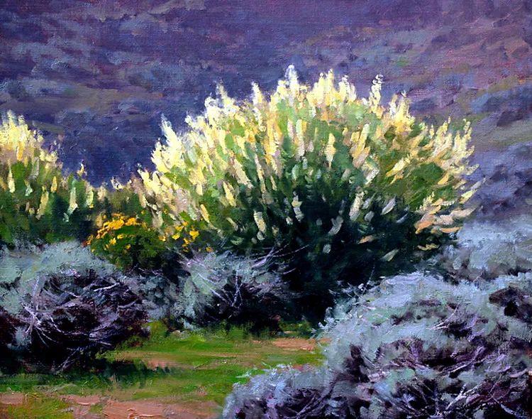 风景油画欣赏 美国Jesse Powell作品插图69