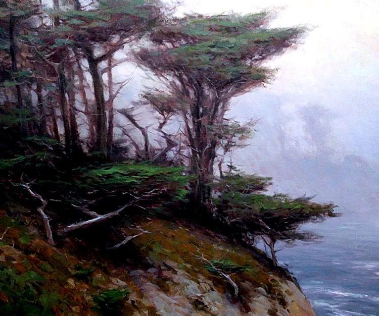 风景油画欣赏 美国Jesse Powell作品插图83