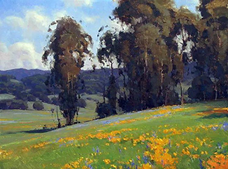 风景油画欣赏 美国Jesse Powell作品插图85