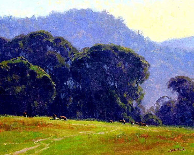 风景油画欣赏 美国Jesse Powell作品插图92