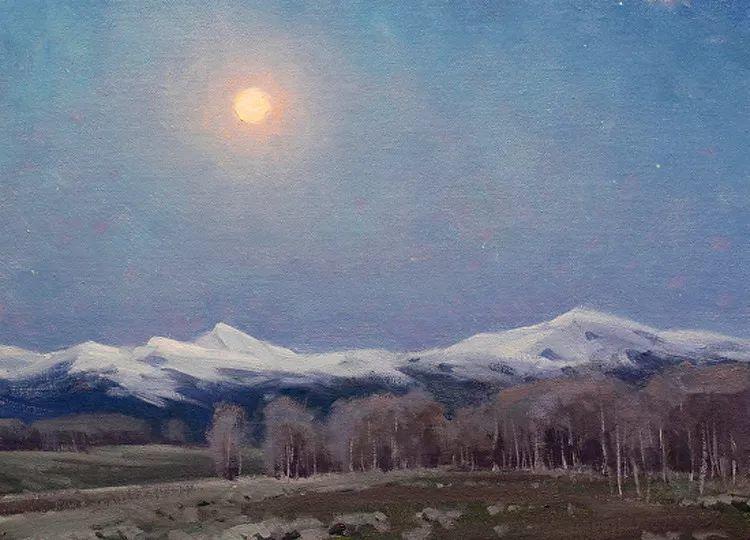 风景油画欣赏 美国Jesse Powell作品插图94