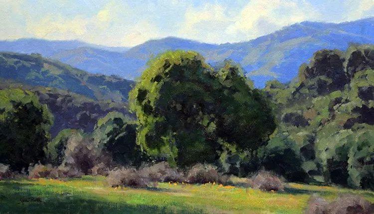 风景油画欣赏 美国Jesse Powell作品插图100