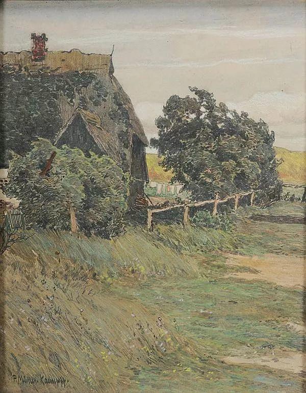 风景油画 德国画家Paul Müller-Kaempff (1861–1941)插图11