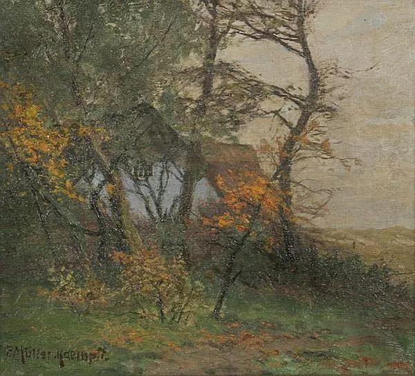 风景油画 德国画家Paul Müller-Kaempff (1861–1941)插图13
