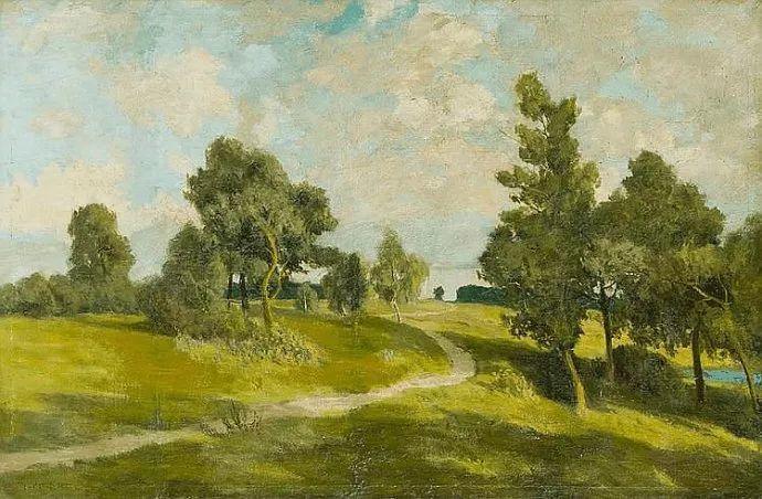 风景油画 德国画家Paul Müller-Kaempff (1861–1941)插图27