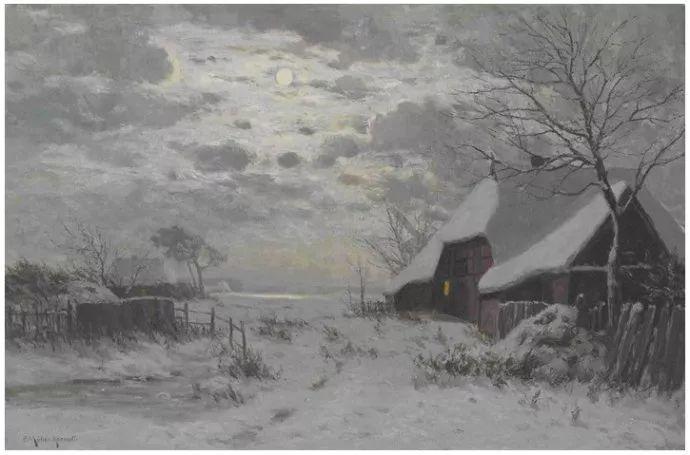 风景油画 德国画家Paul Müller-Kaempff (1861–1941)插图35