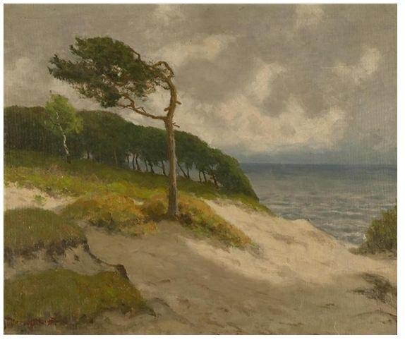 风景油画 德国画家Paul Müller-Kaempff (1861–1941)插图43