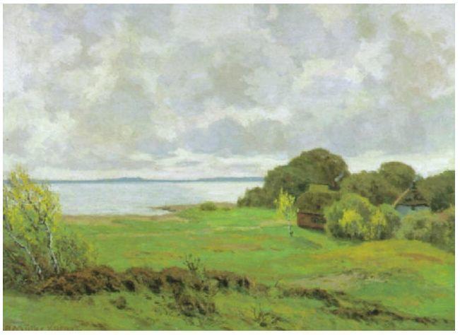 风景油画 德国画家Paul Müller-Kaempff (1861–1941)插图51