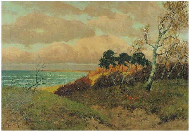 风景油画 德国画家Paul Müller-Kaempff (1861–1941)插图55