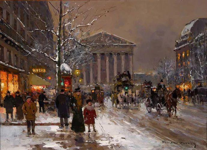 一生只描绘巴黎风情 法国画家Edouard Léon Cortès插图1