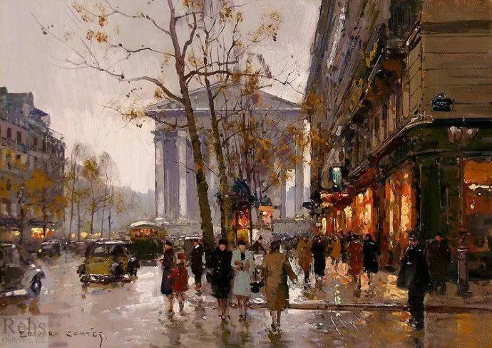 一生只描绘巴黎风情 法国画家Edouard Léon Cortès插图22