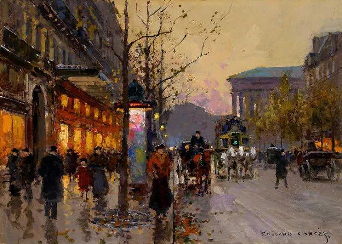 一生只描绘巴黎风情 法国画家Edouard Léon Cortès插图28