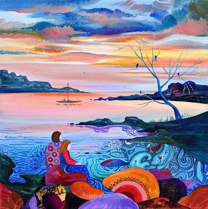乐观和开朗的孤独感,保加利亚女艺术家Sylvia Pavlova插图1