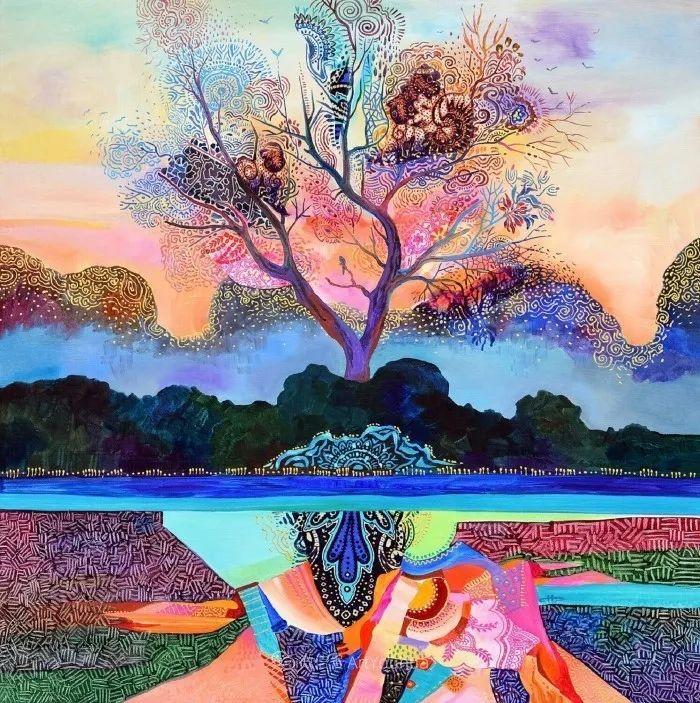 乐观和开朗的孤独感,保加利亚女艺术家Sylvia Pavlova插图2