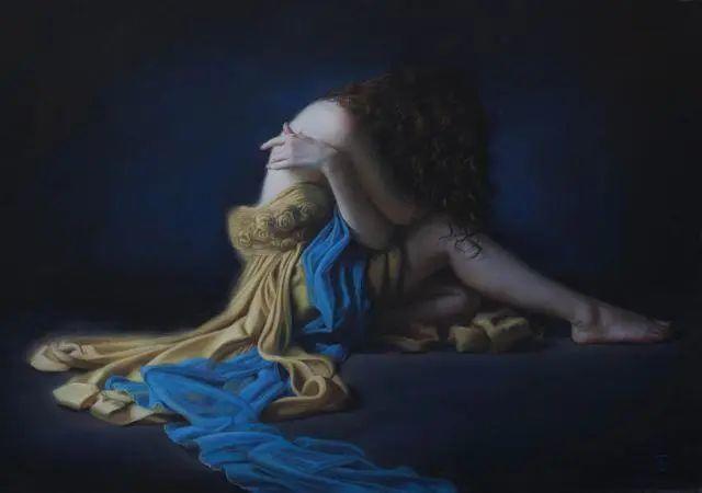 清静宁谧,富有表现力,英国女画家Tina Spratt笔下的女性插图9