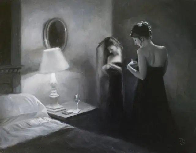 清静宁谧,富有表现力,英国女画家Tina Spratt笔下的女性插图29