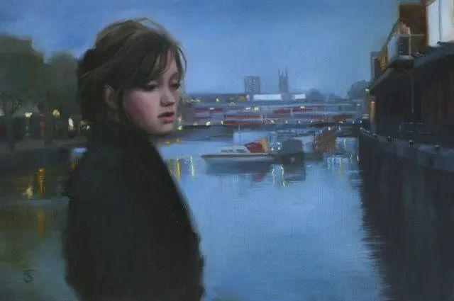 清静宁谧,富有表现力,英国女画家Tina Spratt笔下的女性插图48
