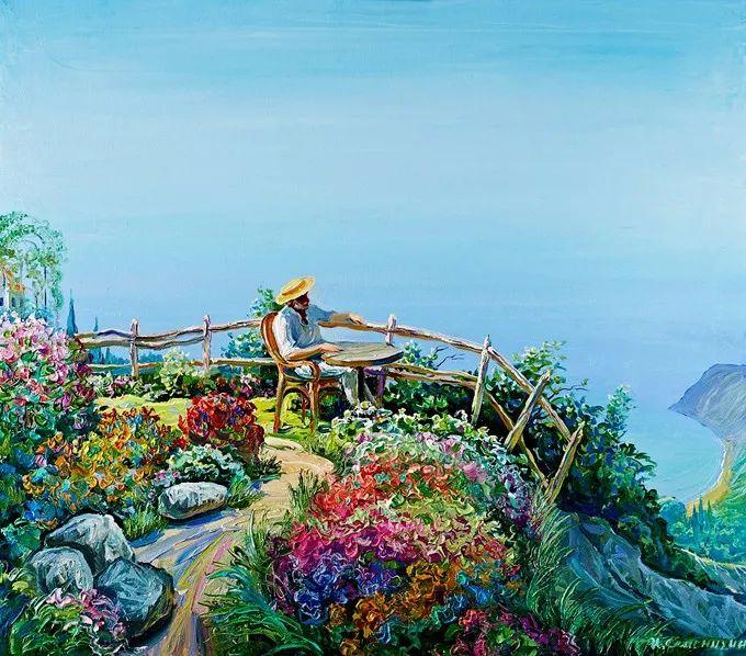 色调舒缓、笔触流畅,俄罗斯画家Igor Semenikhin插图9