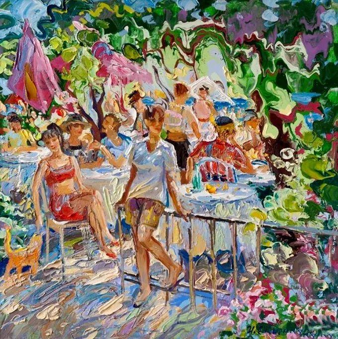 色调舒缓、笔触流畅,俄罗斯画家Igor Semenikhin插图14