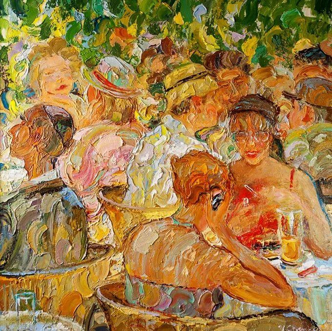 色调舒缓、笔触流畅,俄罗斯画家Igor Semenikhin插图16