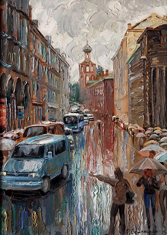 色调舒缓、笔触流畅,俄罗斯画家Igor Semenikhin插图19