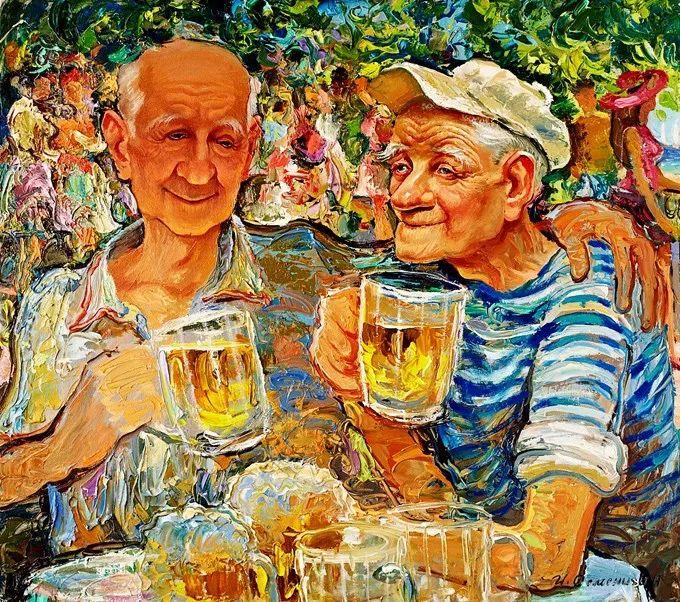 色调舒缓、笔触流畅,俄罗斯画家Igor Semenikhin插图31