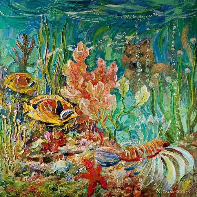 色调舒缓、笔触流畅,俄罗斯画家Igor Semenikhin插图33