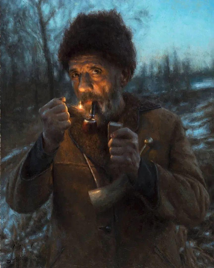 眼前一亮,模特与画像同框!波兰画家达米安·莱科斯特插图17