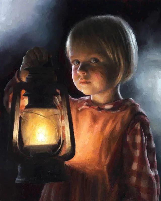 眼前一亮,模特与画像同框!波兰画家达米安·莱科斯特插图29
