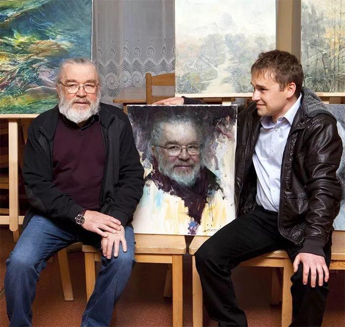眼前一亮,模特与画像同框!波兰画家达米安·莱科斯特插图43