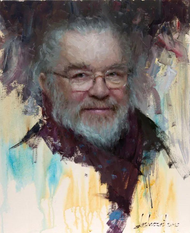 眼前一亮,模特与画像同框!波兰画家达米安·莱科斯特插图45