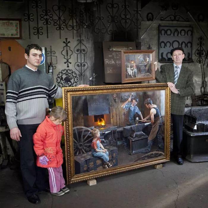 眼前一亮,模特与画像同框!波兰画家达米安·莱科斯特插图51
