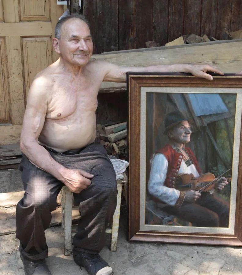 眼前一亮,模特与画像同框!波兰画家达米安·莱科斯特插图63