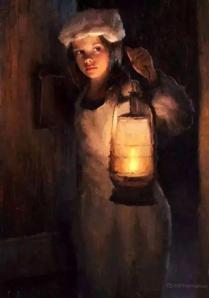 眼前一亮,模特与画像同框!波兰画家达米安·莱科斯特插图75