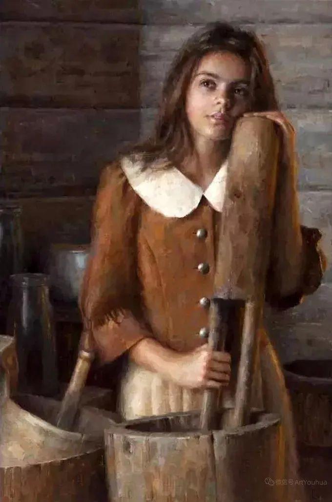 眼前一亮,模特与画像同框!波兰画家达米安·莱科斯特插图81