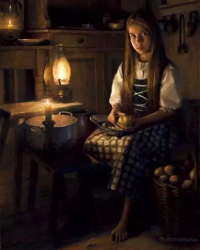 眼前一亮,模特与画像同框!波兰画家达米安·莱科斯特插图83