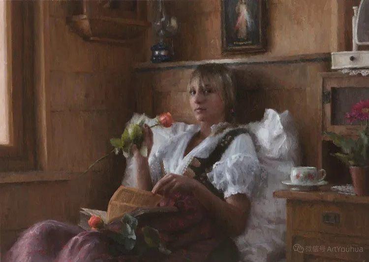 眼前一亮,模特与画像同框!波兰画家达米安·莱科斯特插图85