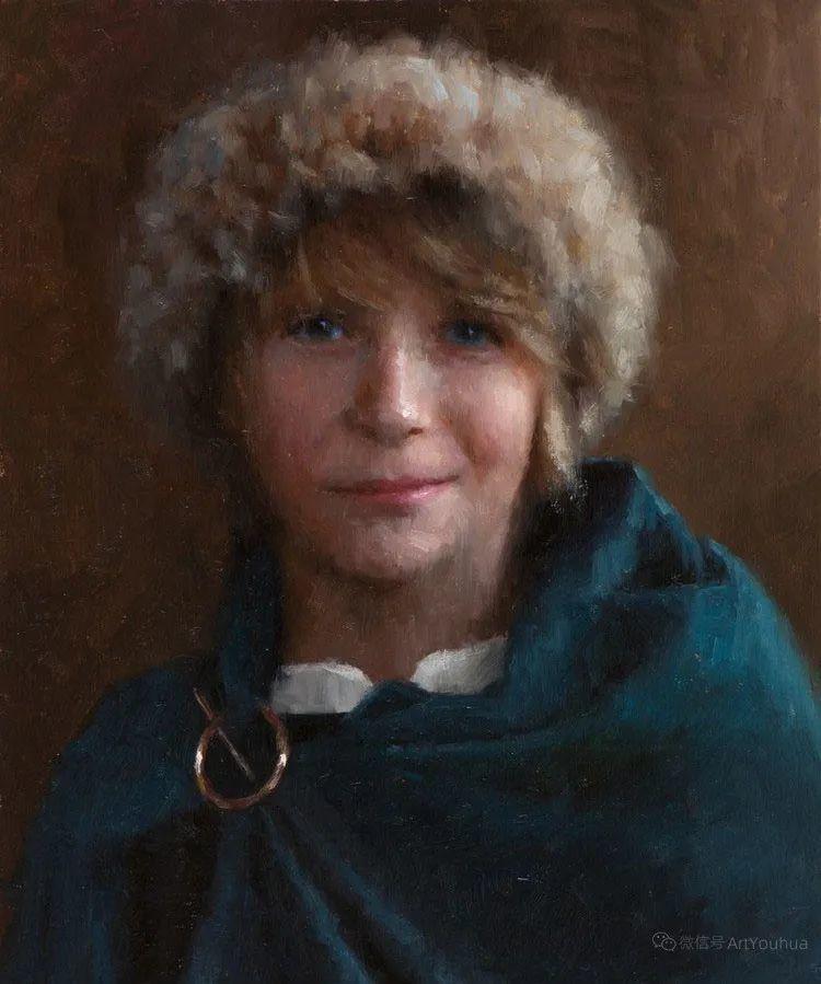 眼前一亮,模特与画像同框!波兰画家达米安·莱科斯特插图87