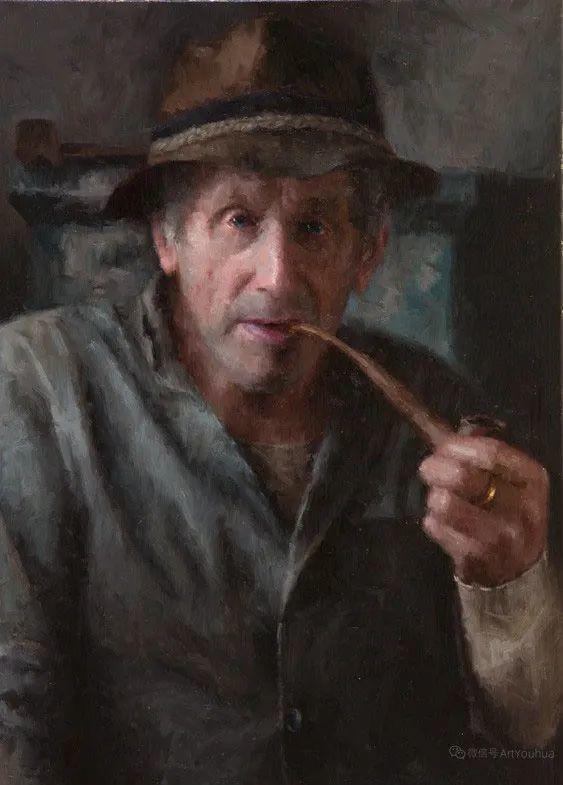 眼前一亮,模特与画像同框!波兰画家达米安·莱科斯特插图91