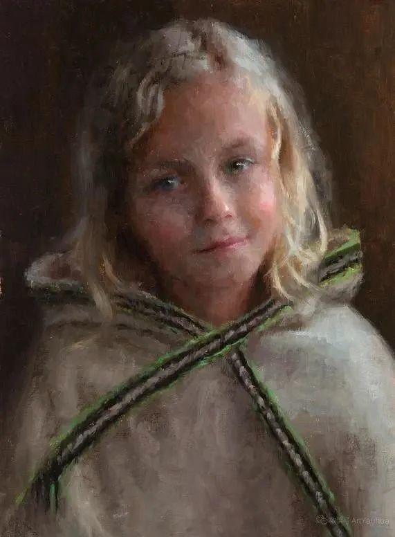 眼前一亮,模特与画像同框!波兰画家达米安·莱科斯特插图93
