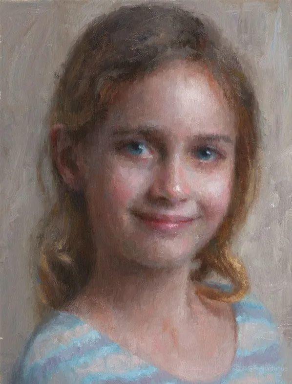 眼前一亮,模特与画像同框!波兰画家达米安·莱科斯特插图109
