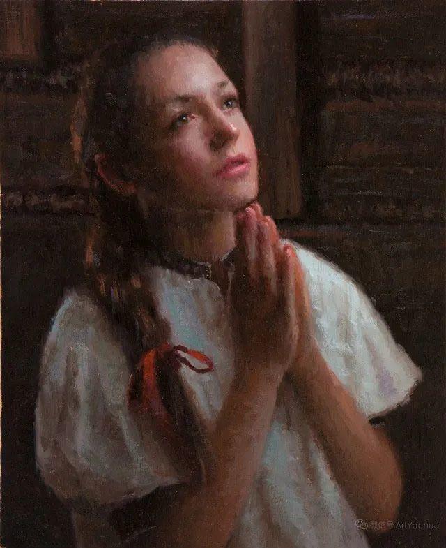 眼前一亮,模特与画像同框!波兰画家达米安·莱科斯特插图117
