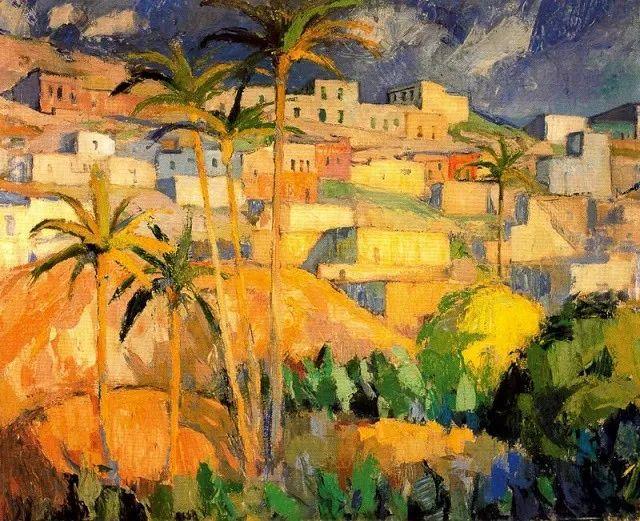 色彩丰富,笔触松散,西班牙画家Miró Mainou插图