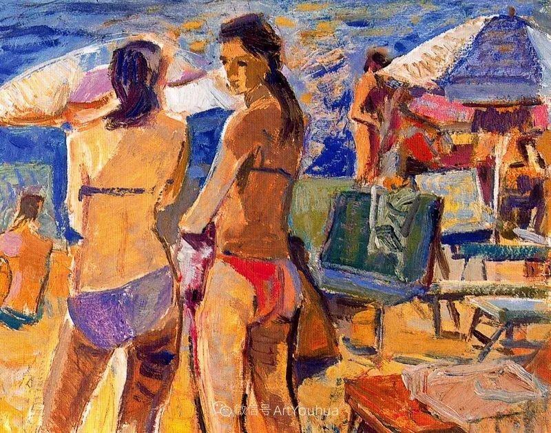 色彩丰富,笔触松散,西班牙画家Miró Mainou插图3