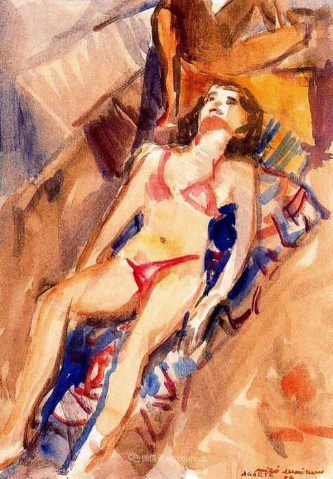 色彩丰富,笔触松散,西班牙画家Miró Mainou插图11