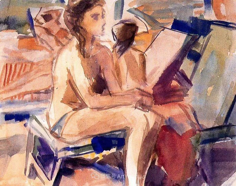 色彩丰富,笔触松散,西班牙画家Miró Mainou插图16