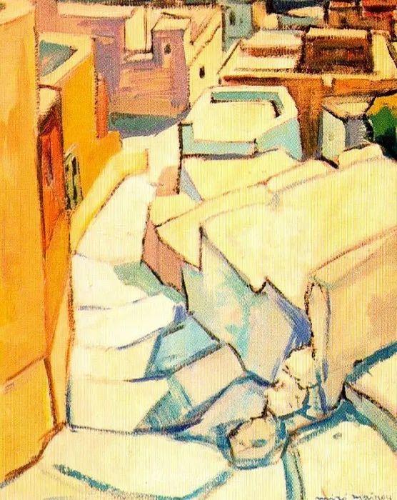 色彩丰富,笔触松散,西班牙画家Miró Mainou插图23