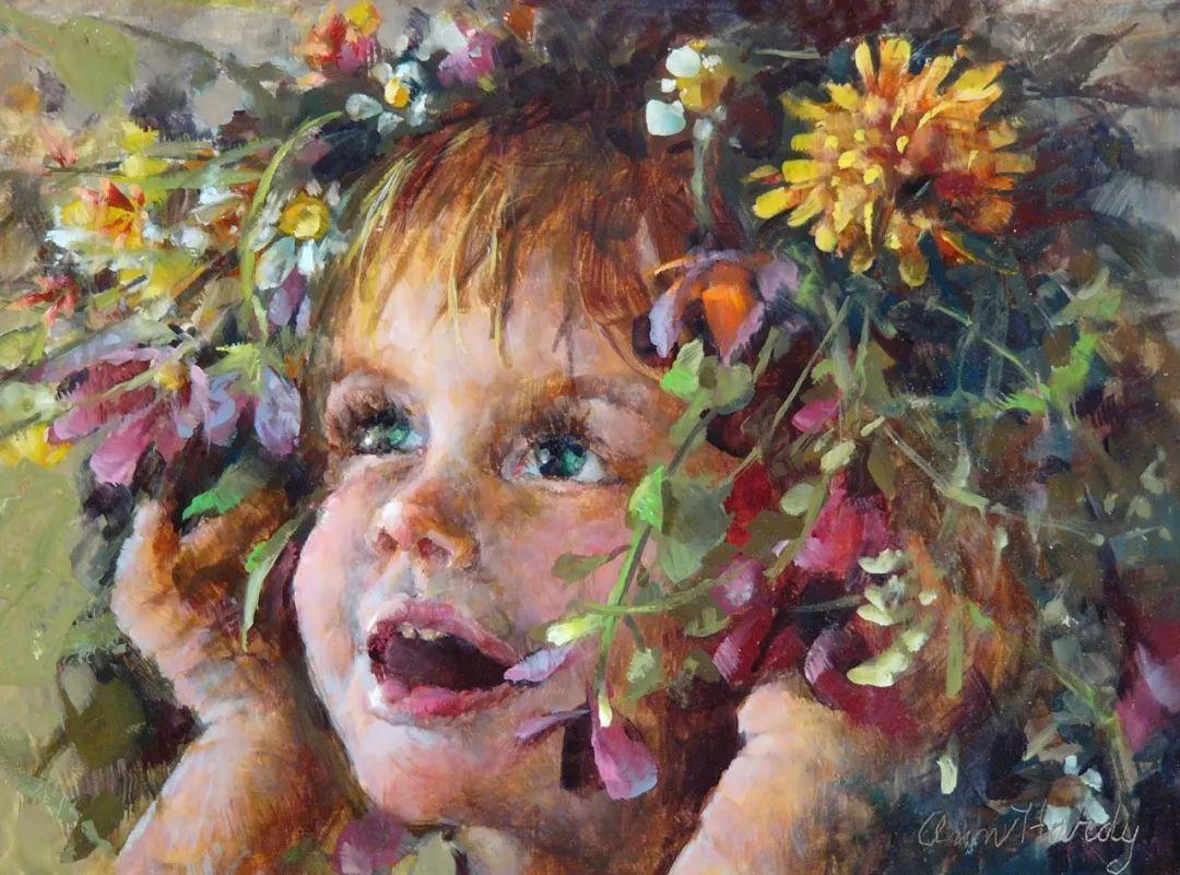 对她来说:绘画的乐趣在于过程,而不是结果!插图97