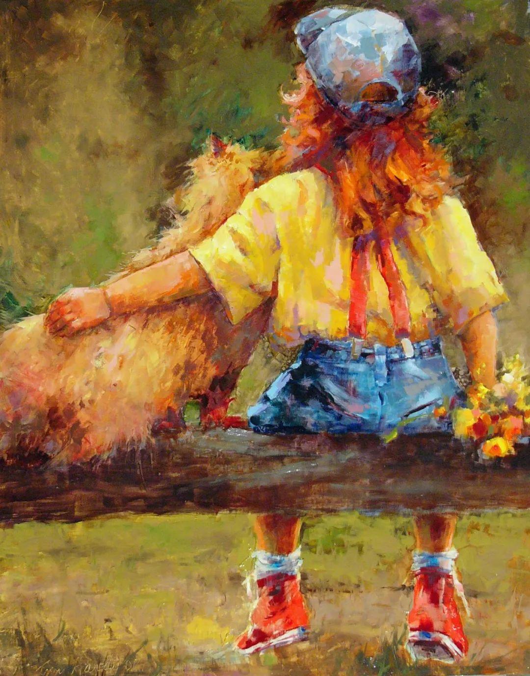 对她来说:绘画的乐趣在于过程,而不是结果!插图109