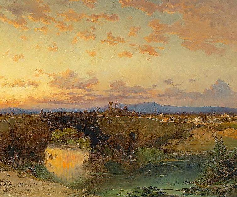 百年前的巨幅风景画,恢弘壮丽!插图1